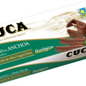 Cuca Anchovies in Organic Extra Virgin Olive Oil