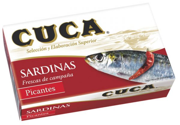 Cuca Sardines with Spicy Chilli