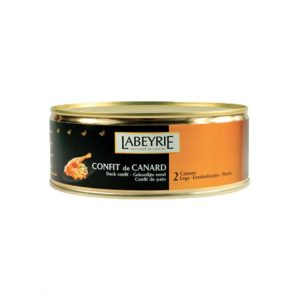 Labeyrie Confit Duck with two Legs 825g