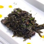 Fideua with Squid in Ink